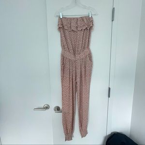 French Boutique Strapless Romper